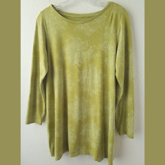 fcea7224cec J. Jill Tops | Pure Jill Super Soft Green Tunic Top Sz Med | Poshmark
